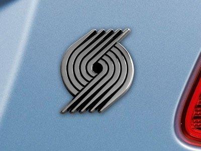Fanmats NBA Portland Trail Blazers Logo Emblem 2.8