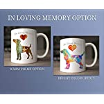 Tibetan Terrier Dog Breed Mug by Artist Dan Morris, Personalize with Dog Name, Two Sizes 10