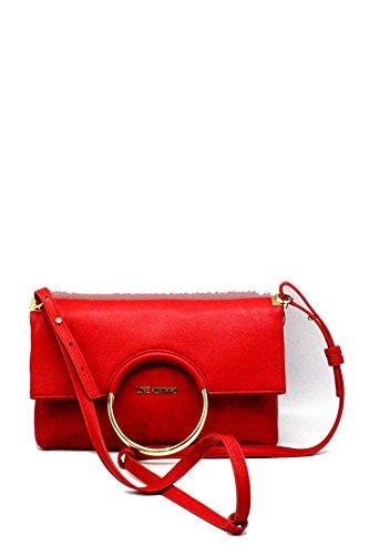 Bianco Borsa Donna Ecopelle A Pieghevole Love Rosso Tracolla Col Moschino Nappa Mano Bs18mo140 rvW1rxpn
