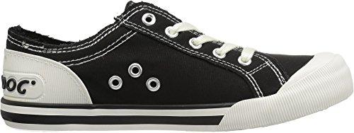 Ryker Canvas Fashion 8a Jazzin Black Sneaker Cotton Dog Women's Rocket tXqxwzUSx