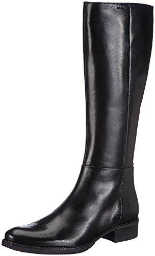 Geox Q Equitazione 9999 Nero Black Stivali D da Mendi Donna Cr4qFPC