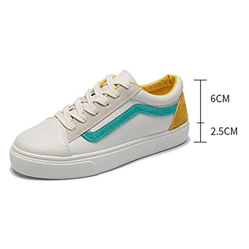 colori UK4 CN36 PU Due piatto sportive Scarpe Scarpe cui comode Colore tra donna Tacco 02 dimensioni EU36 scegliere Estate NAN 02 da ARPnwqH