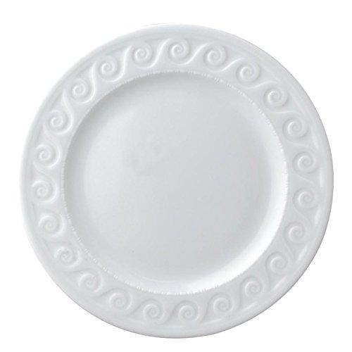 Bernardaud Louvre White Salad Plate by Bernardaud