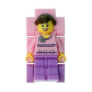 Lego Reloj, diseño Profesor de Tiempo, Color Rosa 9005039 6