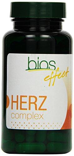 Bios effect Herz complex, 100 Kapseln, 1er Pack (1 x 48 g)