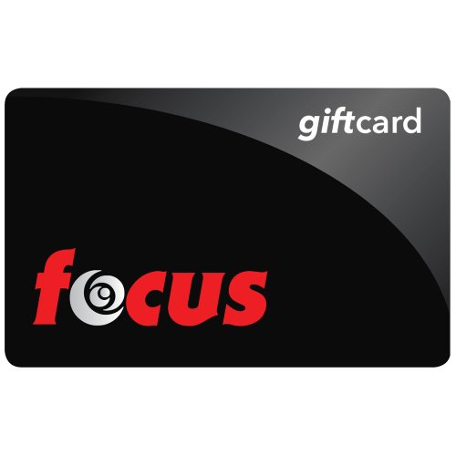Focus Camera Gift Card -