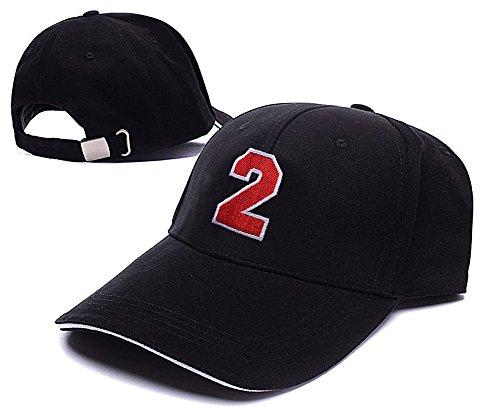 YUDUODUO Arabic Numerals NO.2 Logo Adjustable Baseball Caps Unisex Snapback Embroidery Hats