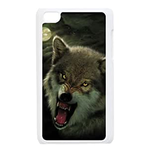 IMISSU Wolf Howling Phone Case For Ipod Touch 4