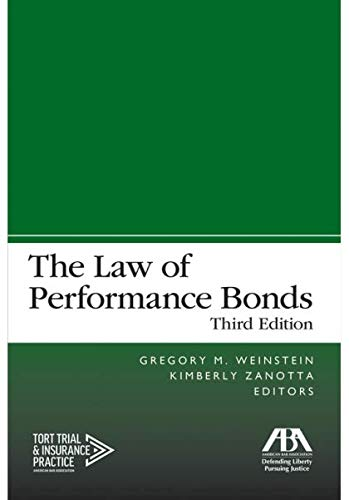 The Law of Performance Bonds, Third Edition, used for sale  Delivered anywhere in USA