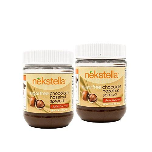 Hazelnut Sugar Free Sugar - nekstella Natural Sugar Free Chococolate Hazelnut Spread 11.6 oz (2 Pack)