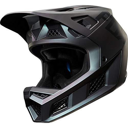 - Fox Racing Rampage Pro Carbon Helmet Black IRI, L