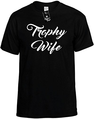 Signature Depot Funny T-Shirt Size 5X (Trophy Wife (New Font) Bride) Unisex Shirt