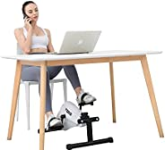 TODO Magnetic Exercise Bike Stationary Pedal Exerciser Smooth and Quiet with LCD Monitor