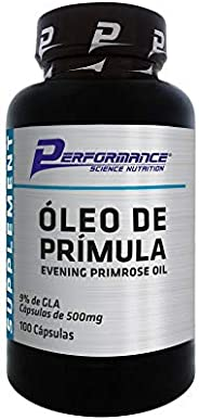 Óleo de Prímula 500mg (100 Sofgels), Performance Nutrition