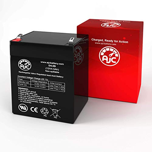 Union MX-12040 12V 4.5Ah UPS Battery - This is an AJC Brand Replacement