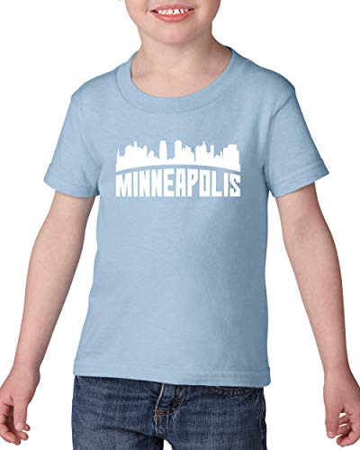 Minneapolis Most Visited US Cities Toddler Heavy Cotton