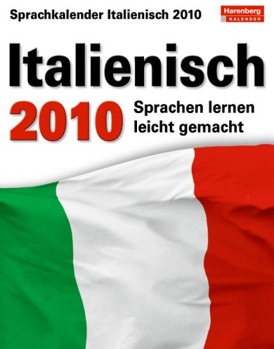 Harenberg Sprachkalender Italienisch 2010