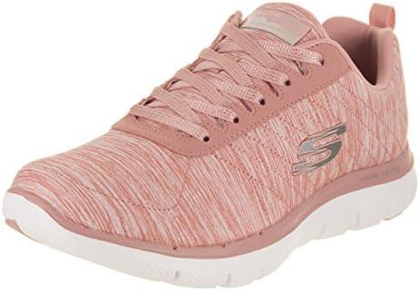 Preludio Escupir Introducir  Skechers Flex Appeal 2.0 - Zapatillas para mujer, Rosa, 6.5 M US: Shoes -  Amazon.com