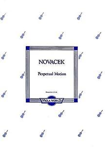 Ottokar Novacek: Perpetual Motion (Viola). Partituras para