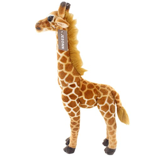 JESONN Realistic Stuffed Animals Giraffe Plush Toys 23.6 Inches or 60CM,1PC Giraffe Animal