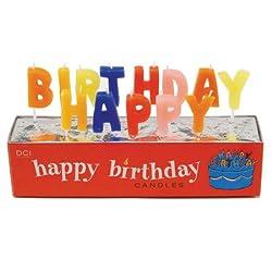 DCI Happy Birthday Candles