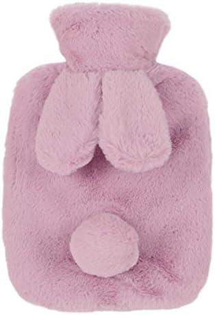 Riky praktische Wärmflasche mit Kaninchenohren, warm im Winter