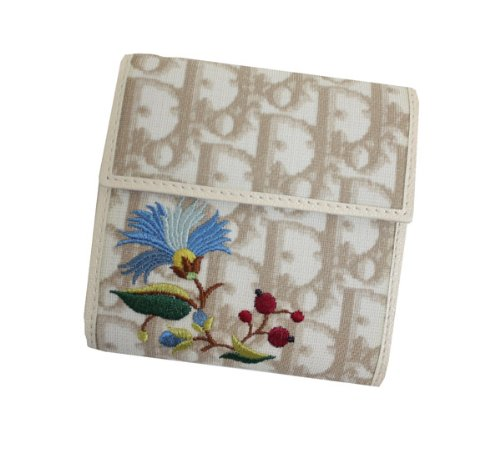 ディオール フラワー 財布(ホック式小銭入れ付き) CFE43008