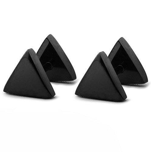 FIBO STEEL Earrings Stainless Piercing