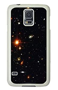 Galaxy Space Universe Star Custom Samsung Galaxy S5/Samsung S5 Case Cover Polycarbonate White