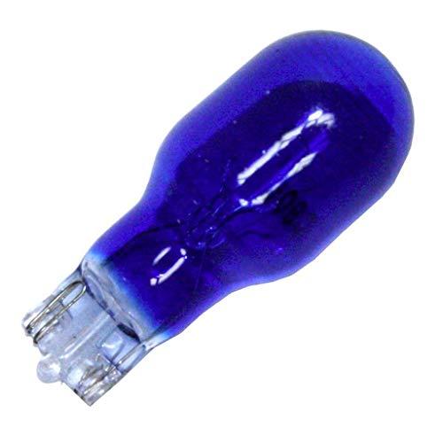 Eiko 906B T-5 Wedge Base Halogen Bulb, 13V/0.69 Amp, Blue