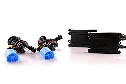DDM Tuning 55W AC HID Conversion Slim Kit, Slim Digital Ballasts, 9004, 3000K ()