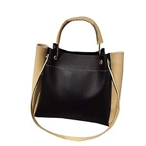 Wultia - Shoulder Bag Handbags Big Women Bag Casual Female Bags Trunk Tote Shoulder Bag Daily Shopping torebka Damska Black