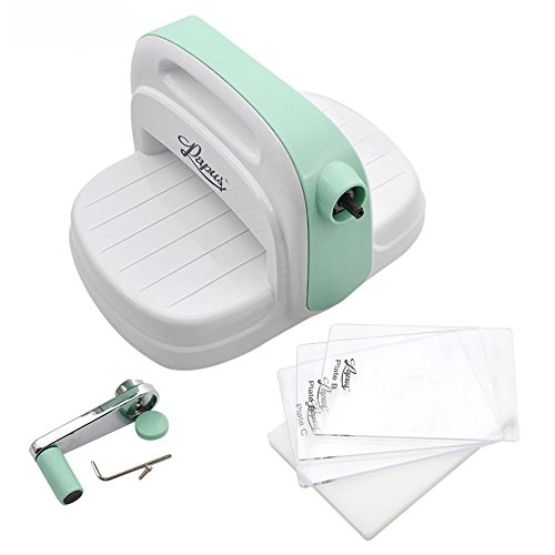 She-love Cutting/Embossing Machine with 3pcs Different Plate by She-love