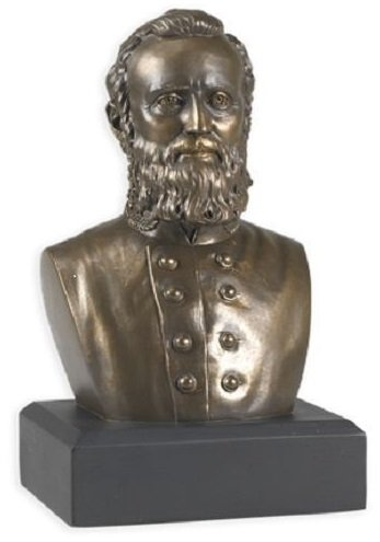 Civil War Thomas Stonewall Jackson Bust - Great Americans (Commander Gold Stand)