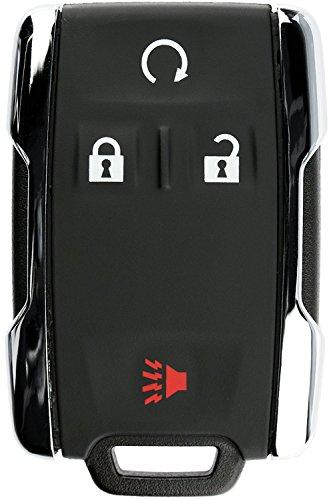 KeylessOption Keyless Entry Remote Control Car Key Fob Replacement for Sierra Silverado M3N-32337100 ()