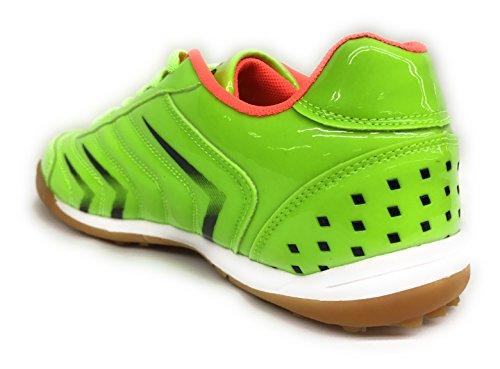 Dream See Big Kid / Hombres 83100 Athletic Lace Up Soccer Futbol Zapatos Tallas 4.5-7 Neon Green