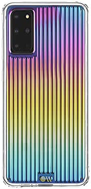 Case-Mate - TOUGH GROOVE - Iridescent Case for Samsung Galaxy S20+ | S20 Plus - 5G Compatible - 6.7 inch - Iri