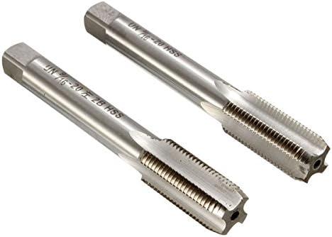 New 9//16/'/' 20 Right /& Left Hand Thread Tap HSS TPI For Bike Crank Repair USA