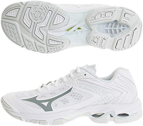 メンズ レディース バレーボールシューズ ウエーブライトニング Z5 15thモデル ホワイト V1GA1901 99