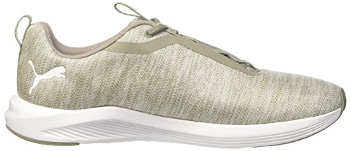 Puma Prowl Shimmer Wn's, Chaussures de Cross Femme, Rose/Blanc Gris (Rock Ridge-puma White)