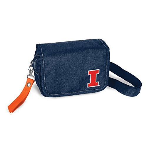 (NCAA Illinois Fighting Illini Ribbon Waist Pack Purse)