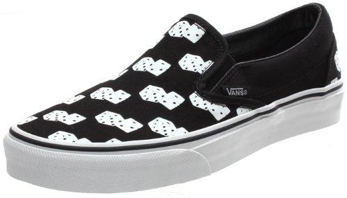 Vans - Mocasines para hombre, color negro, talla 7 UK: Amazon.es: Zapatos y complementos