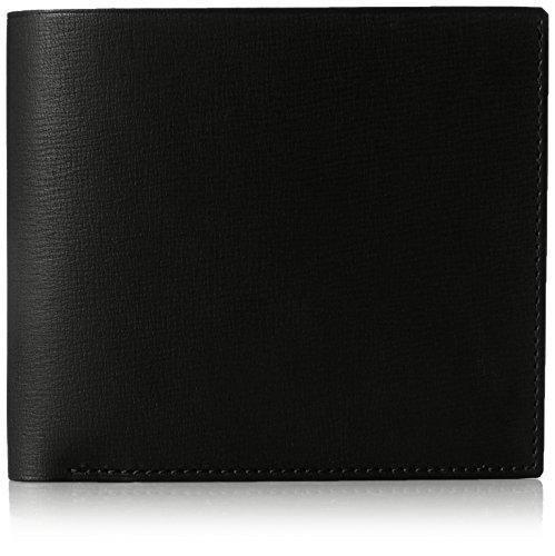 MAISON de HIROAN Leather Bifold Wallet Made in Japan 21536 Black by MAISON de HIROAN