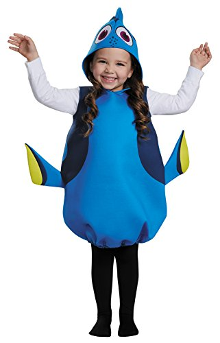 (Girl's Finding Dory Fish Theme Outfit Child Halloween Fancy Costume, Child OS)
