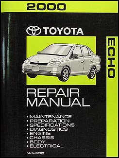 2000 toyota echo repair shop manual original toyota amazon com books rh amazon com 2000 toyota echo manual transmission problems 2000 toyota echo manual shift cable
