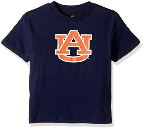 NCAA Boys Auburn Tigers Primary Logo Tee, Dark Navy, Large (Ncaa Auburn Tigers Golf Tee)