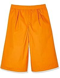 "A para impresionante Niñas 3 4 ""de largo de ancho pierna pantalones cortos con bolsillos"