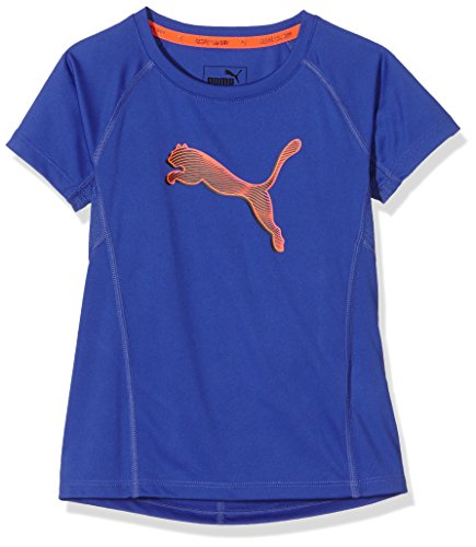PUMA Kinder T-shirt Active Dry Training Graphic Tee G, Royal Blue, 152, 838900 21