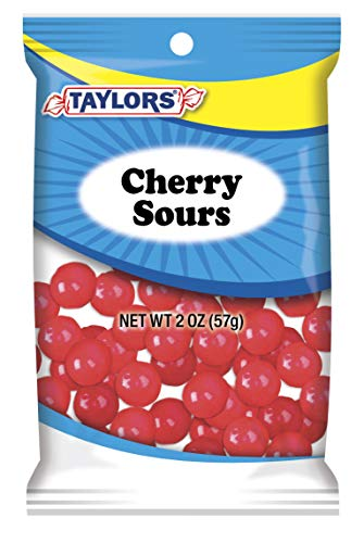 Taylors Candy 2 oz Cherry Sours Candies, 24 Count (Pack of 3) by TylrdsCn (Image #1)