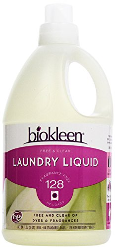 Biokleen Free and Clear Liquid Laundry Detergent 1.89 ltr
